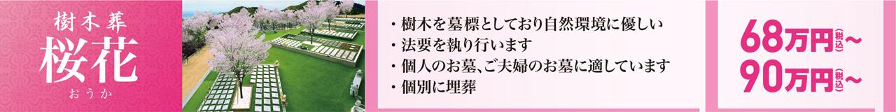 樹木葬「桜花」